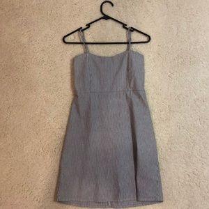 brandy melville seersucker mini dress